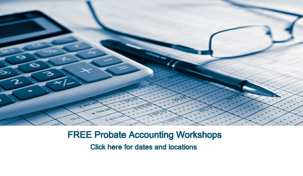 Probate Accounting Workshops